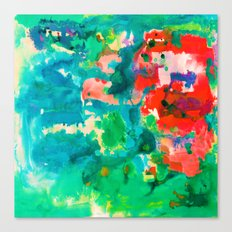 Anenome Jewel Canvas Print