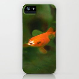 Coming Up For Air iPhone Case