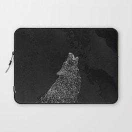 Midnight Wolf Laptop Sleeve