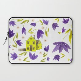 Crocus flowers Laptop Sleeve