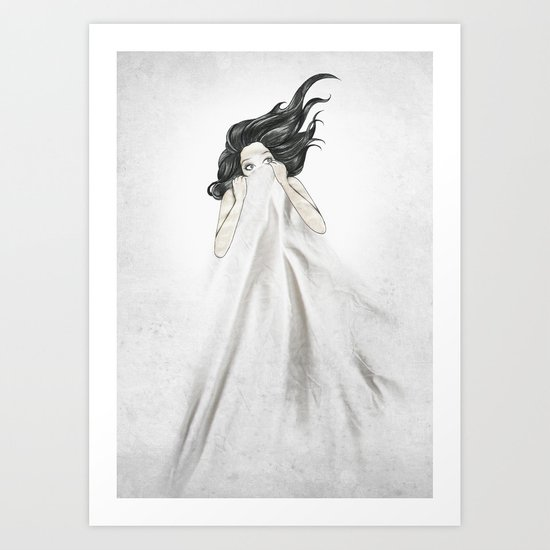White As A Sheet Art Print