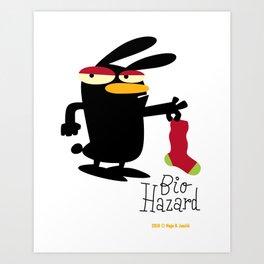 Bio Hazard  / Art print Art Print