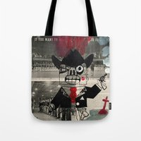 the national Tote Bags featuring national guard by Normunds Bruveris