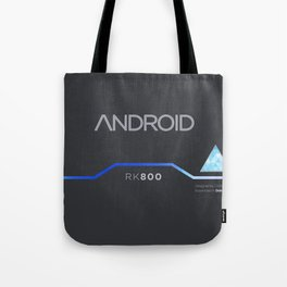Connor's Android Jacket Tote Bag