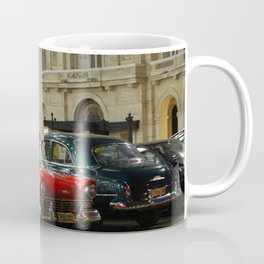 Cars in Havana Coffee Mug