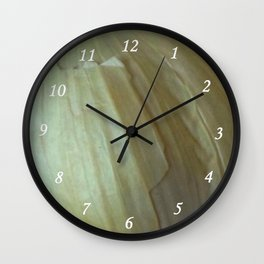 Garlic Skin Wall Clock