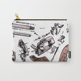 Exploded Gun Carry-All Pouch