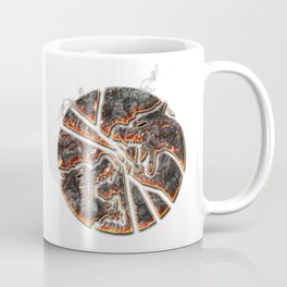 Magma Emblem on white Coffee Mug