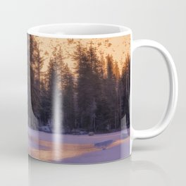 Daydreaming at Castle Lake Northern California Coffee Mug