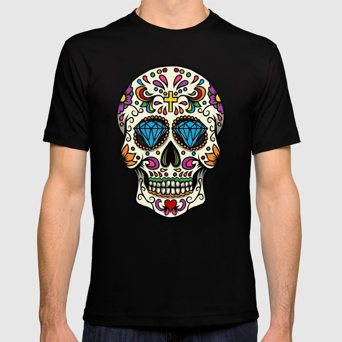 T-Shirt Men/'s Mexico Skull World Cup 2018 Football Mexico World Cup S-5XL