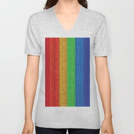 Colours Of The Rainbow Unisex V-Neck