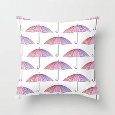 Ready for Rain Throw Pillow
