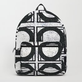 Beyond Zero in black and white Backpack
