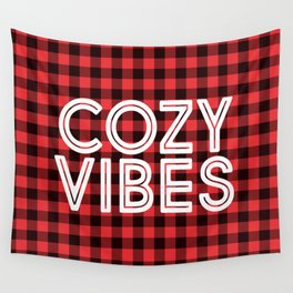 Cozy Vibes Wall Tapestry
