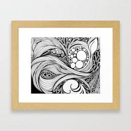 Clivia Palmata Framed Art Print