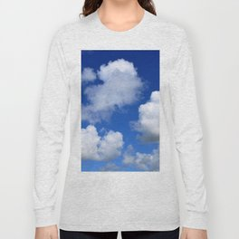 Clouds and blue sky Long Sleeve T-shirt