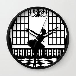 Swan Lake: Odile the Black Swan Wall Clock