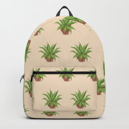 agave in the pot Backpack