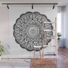 Lotus Mandala Wall Mural