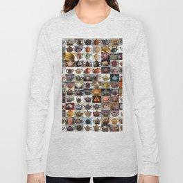 Yixing Teapot Montage Long Sleeve T-shirt