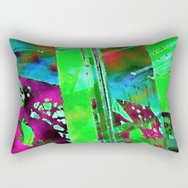 The Lady in the Window Rectangular Pillow