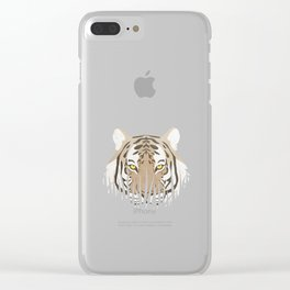 Hiding Tiger Clear iPhone Case