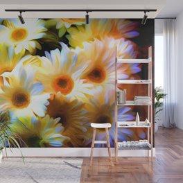 Flower Art For Wall Mural