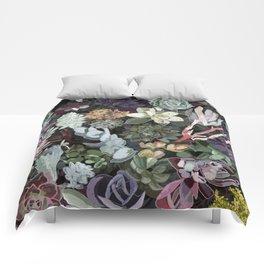 succulent garden Comforters