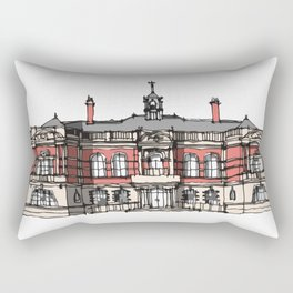 Battersea Arts Center London Rectangular Pillow