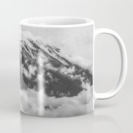 Volcano Misti in Arequipa Peru Covered by Clouds Coffee Mug