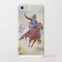 cowboy iPhone & iPod Cases featuring Cowboy by Lily Snodgrass