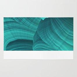 Turquoise Sediment Rug
