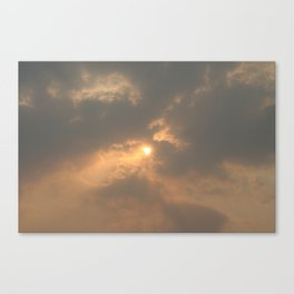 Hope Behind the Fire Canvas Print