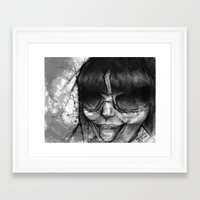 sassy Framed Art Prints featuring Sassy by Stina Beebe