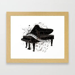 Gifts for Pianist Framed Art Print