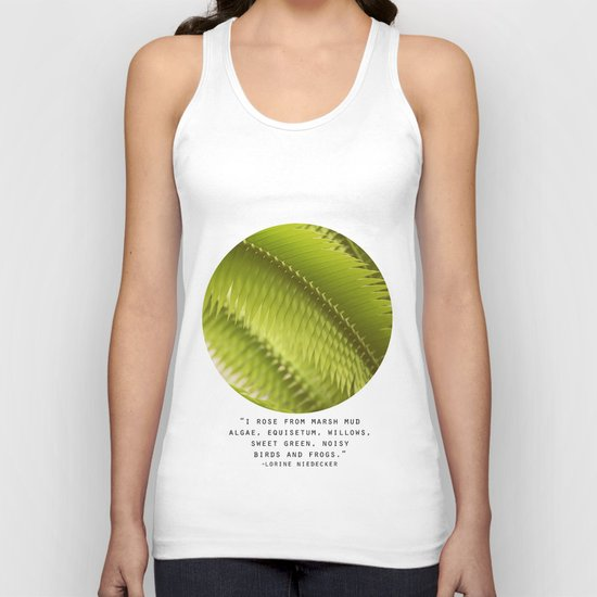 Lemon Grass Unisex Tank Top
