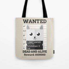 Schrödingers Cat Tote Bag