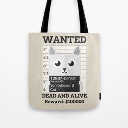Schrödingers Cat Tote Bag