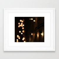 bokeh Framed Art Prints featuring Bokeh by Ellie Rose Flynn