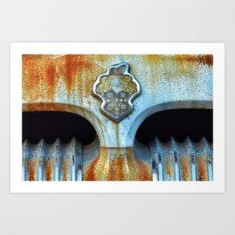 packard patina Art Print