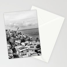 Cinque Terre BW Stationery Cards