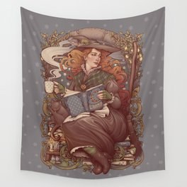 NOUVEAU FOLK WITCH Wall Tapestry