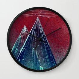 Glass Mass Wall Clock