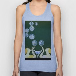 "1920's Art Deco Design ""Bubbles"" Unisex Tank Top"