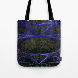 Xeno Blue Tote Bag