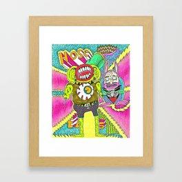 House Beatz Framed Art Print