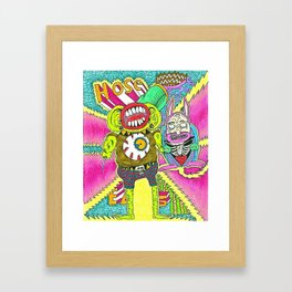House Beatz Framed Art Print