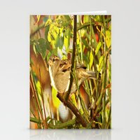sparrow Stationery Cards featuring Sparrow by Judy Palkimas