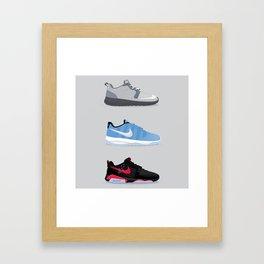roshe x jumpman Framed Art Print