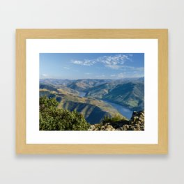 The Douro Valley, Portugal Framed Art Print